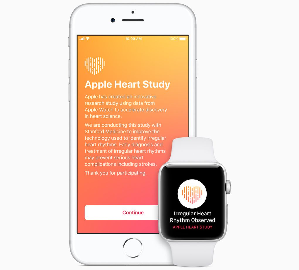 Apple and Stanford's Apple Watch study identified irregular heartbeats in over 2,000 patients