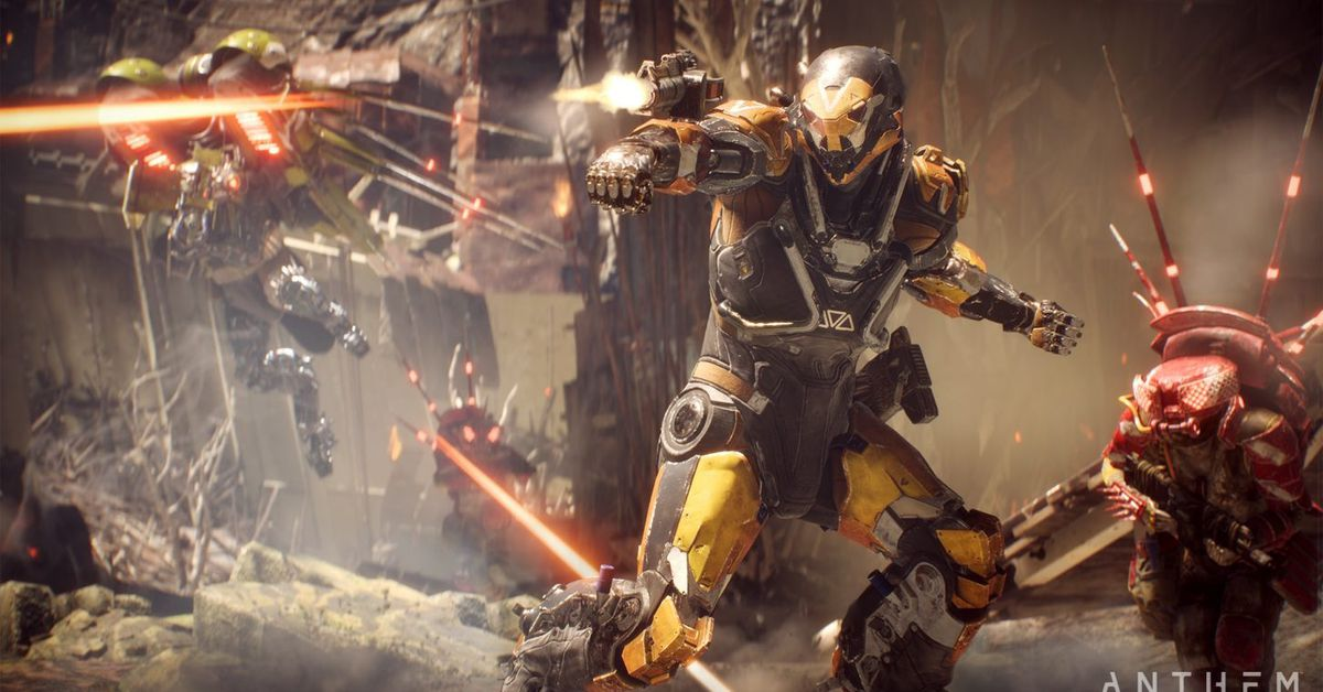 BioWare confirms Anthem is crashing PS4s, will fix in next week's patch