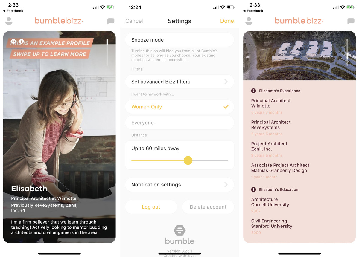 Bumble's women-only networking feature isn't a job discrimination tool