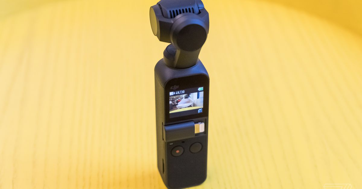 DJI's $39 mic adapter for the Osmo Pocket is here to save your vlog's audio
