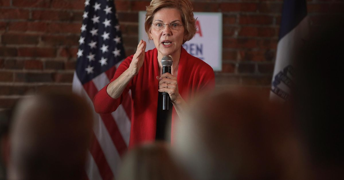 Elizabeth Warren says she wants to break up Amazon, Google, and Facebook