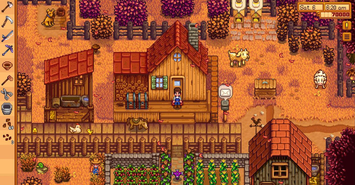 Everyone's favorite farming game is now on Android