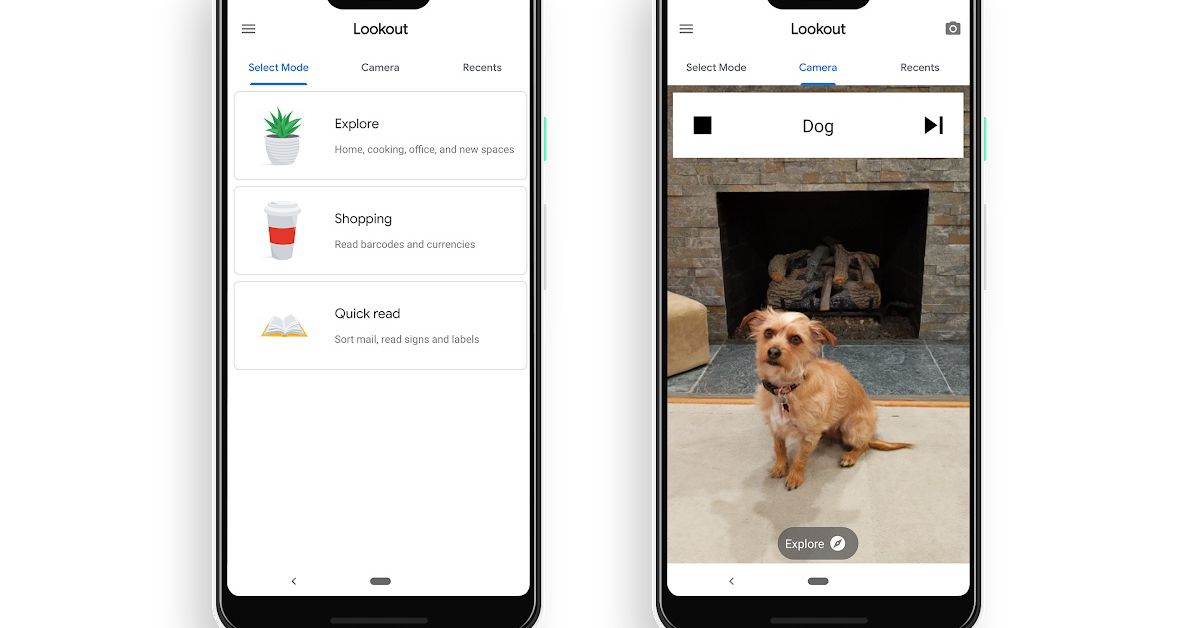 Google releases Lookout app that identifies objects for the visually impaired