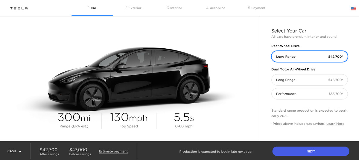 How to preorder Tesla's new Model Y