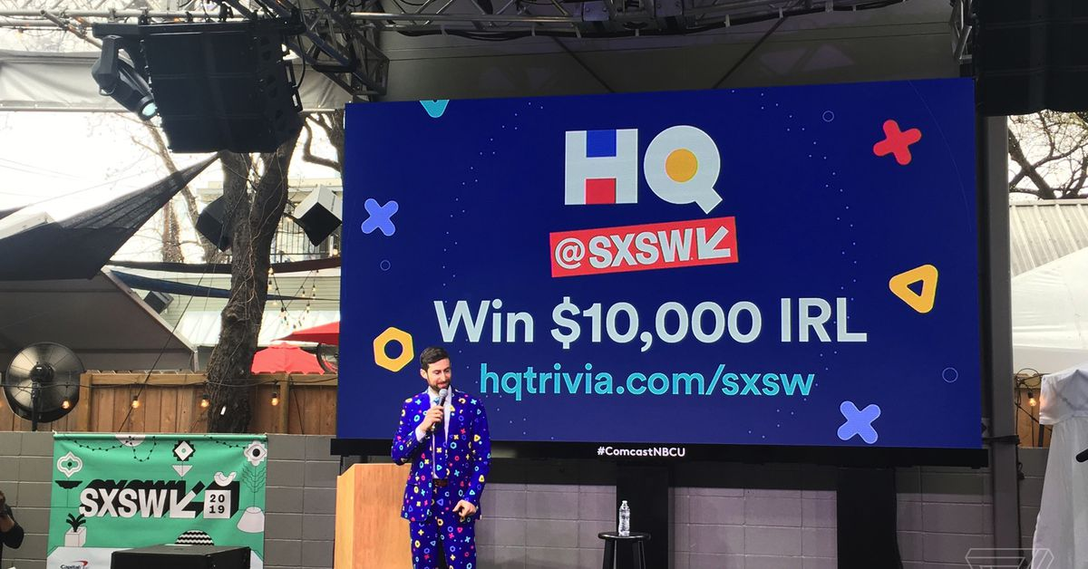HQ Trivia's first live event was ruined by people who weren't in the audience