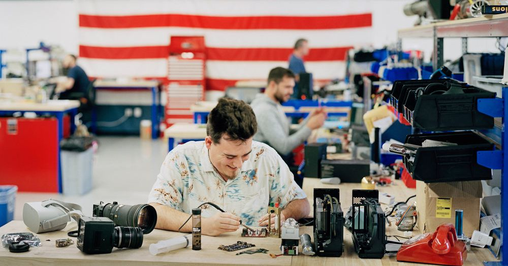 Palmer Luckey's company earned a contract for the Pentagon's Project Maven AI program