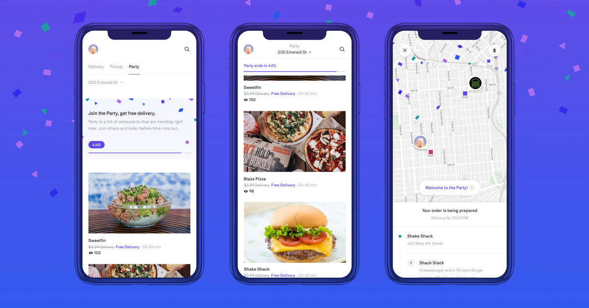 Postmates launches a free group delivery option