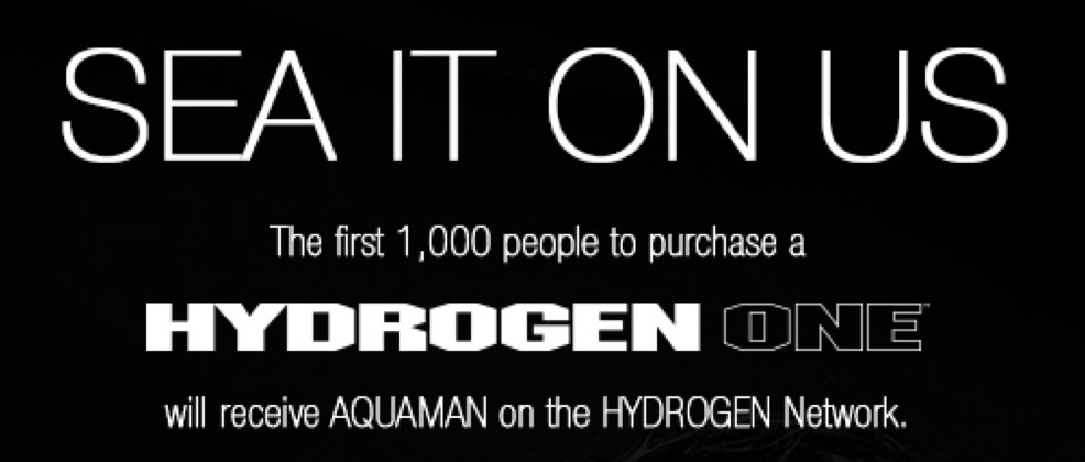 RED's Hydrogen One is arguably a worse deal now that it's bundled with Aquaman