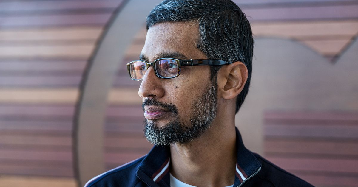 Sundar Pichai met with President Trump about Google's 'commitment to working with the US government'