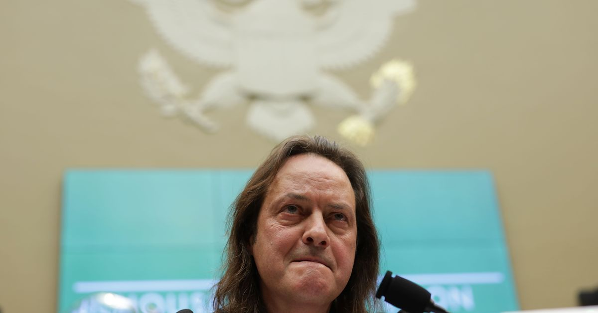 T-Mobile CEO challenged by lawmakers over Trump hotel stays