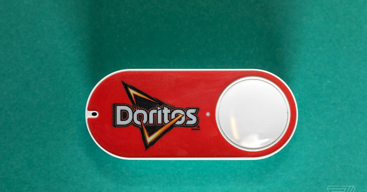 The Amazon Dash button was a physical interface to digital shopping