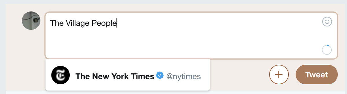 New York Times Twitter The Village People