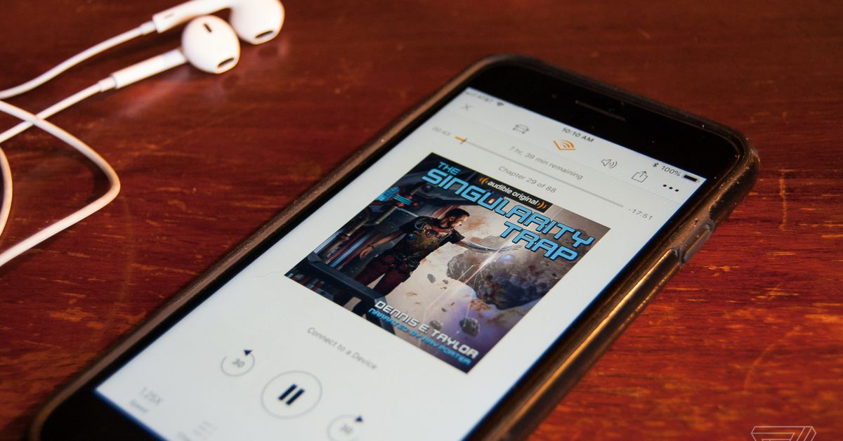 Audible will now let you keep your membership credits for a full year