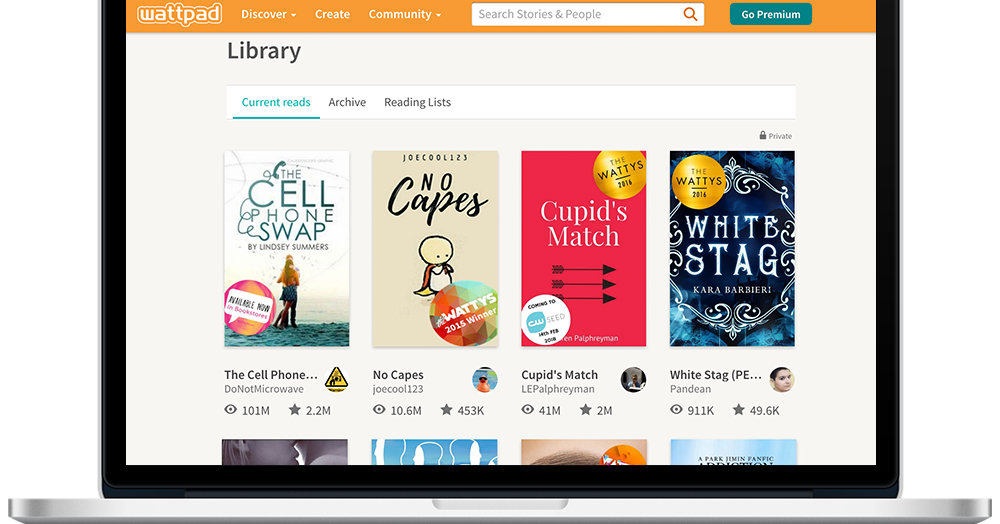 Digital publishing site Wattpad is partnering with Sony to adapt stories for Hollywood