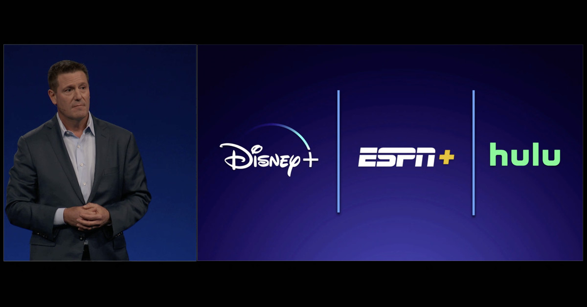 Disney confirms it will 'likely' bundle Disney+, ESPN+, and Hulu for one price
