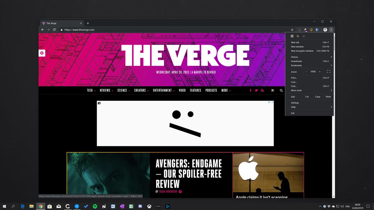 How to enable Google Chrome's new dark mode on Windows 10