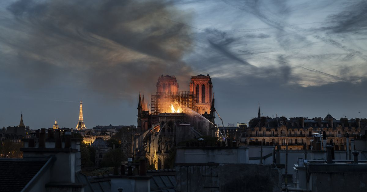 Misinformation about the Notre Dame fire spread quickly on social media