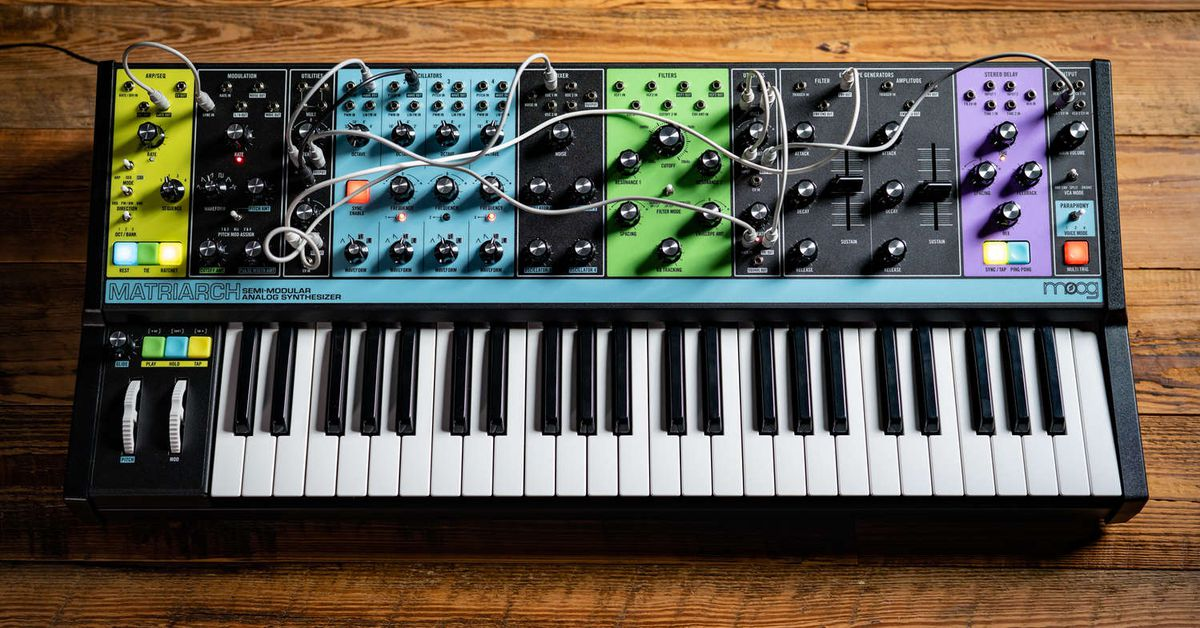 Moog's new limited edition Matriarch is a powerful analog synth