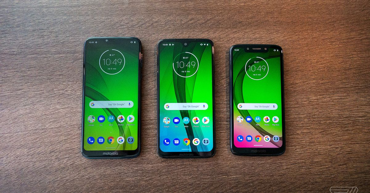 Motorola Moto G7 and One lines are getting Google's call screening feature