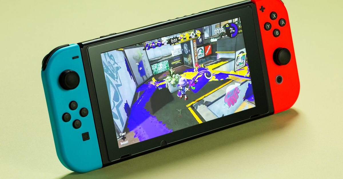 Nintendo forecasts modest Switch growth as sales overtake the Nintendo 64