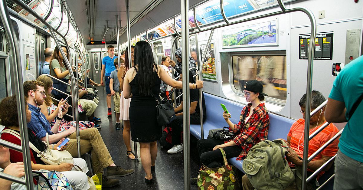 """NYC subway denies using """"real-time face recognition screens"""" in Times Square"""