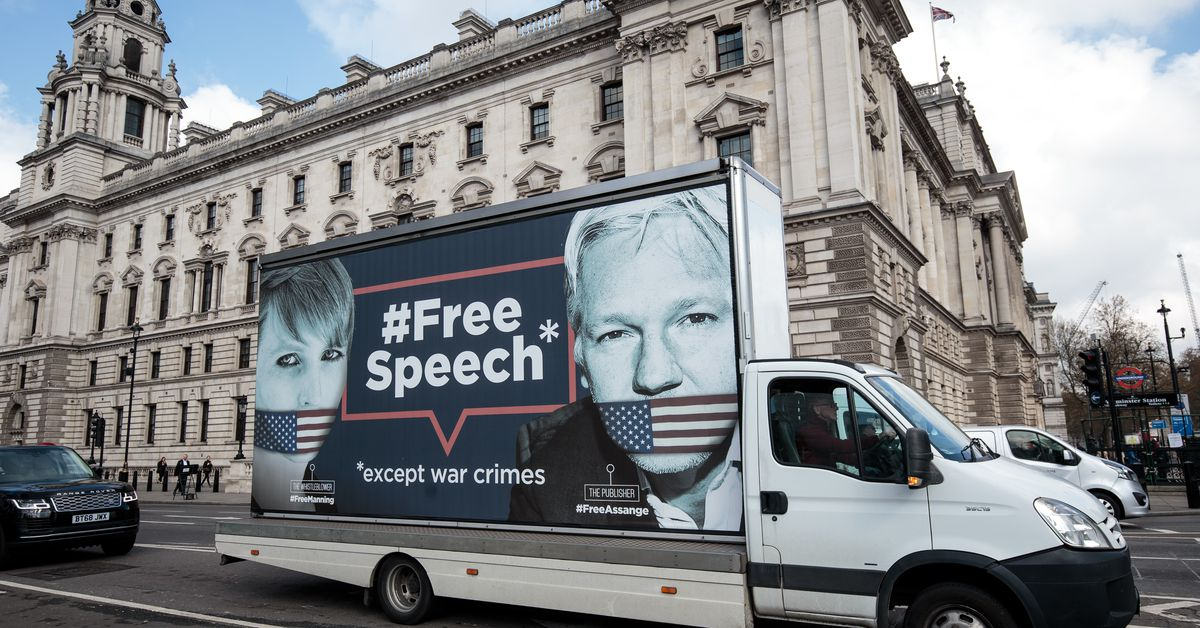 Read the United States' indictment against Julian Assange