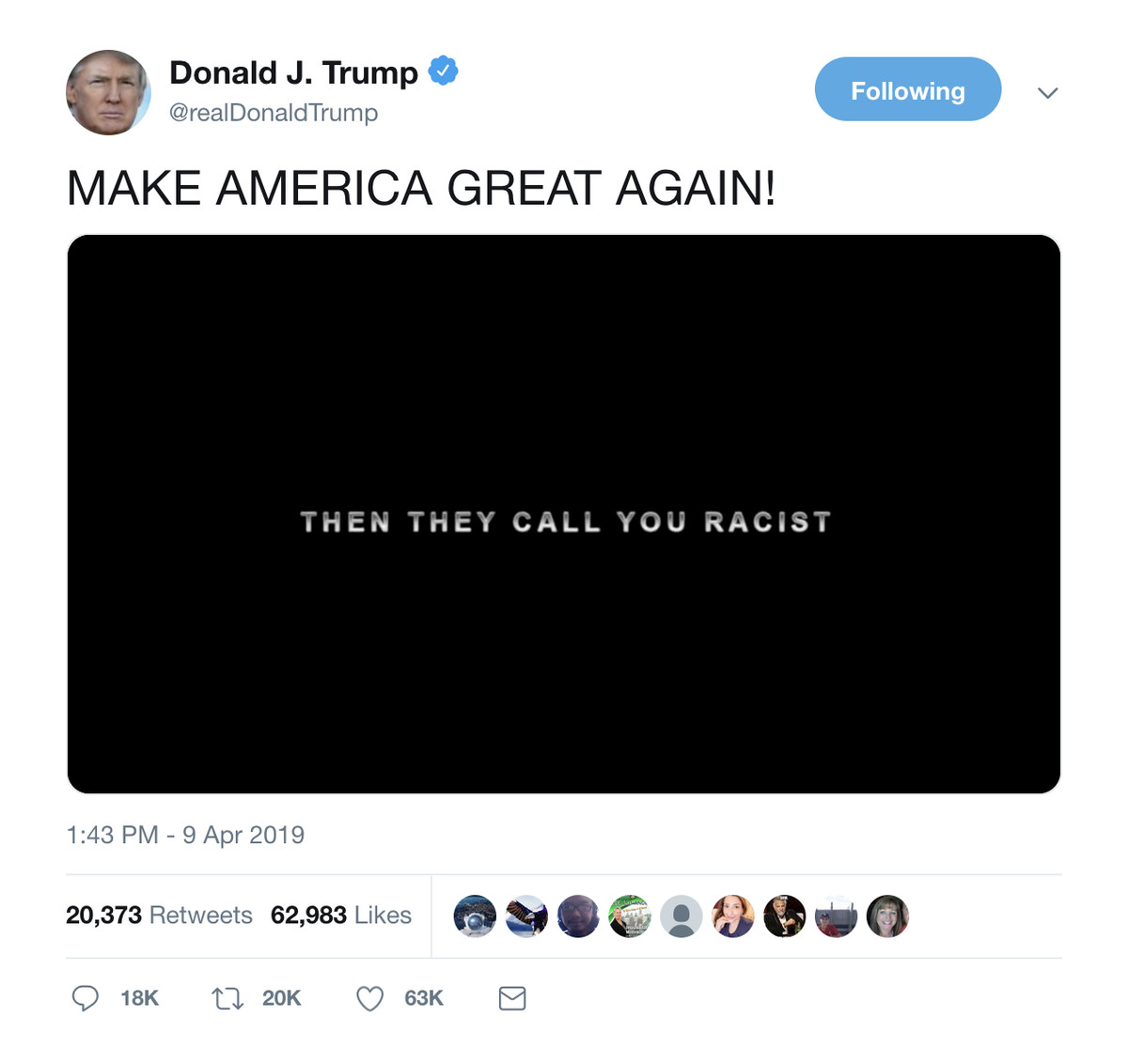 Twitter removes Trump's video featuring music from The Dark Knight for copyright infringement
