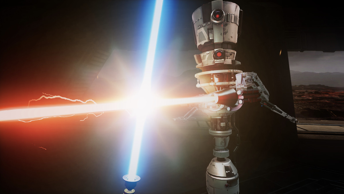 Watch the first real gameplay trailer for Star Wars: Vader Immortal