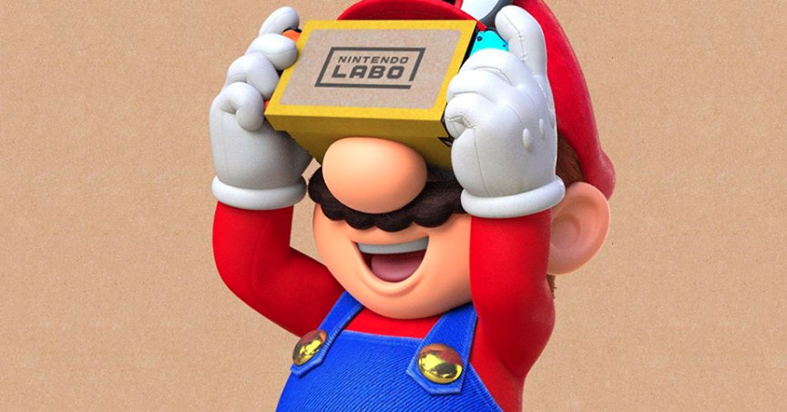With no head strap, here's how you'll look playing Mario Odyssey in VR