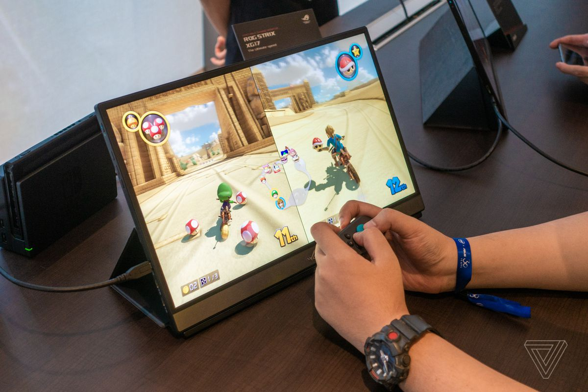 Asus announces two portable monitors: one for 240Hz gaming, one for touching