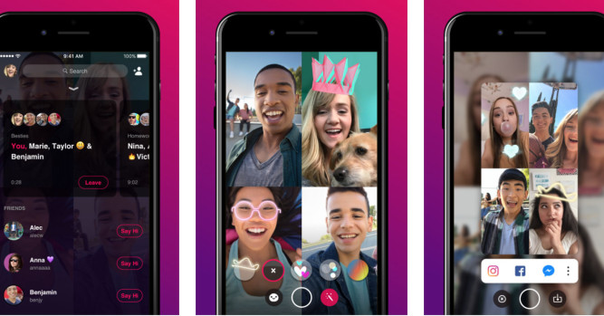 Facebook is shutting down Bonfire, its Houseparty clone for group video chat
