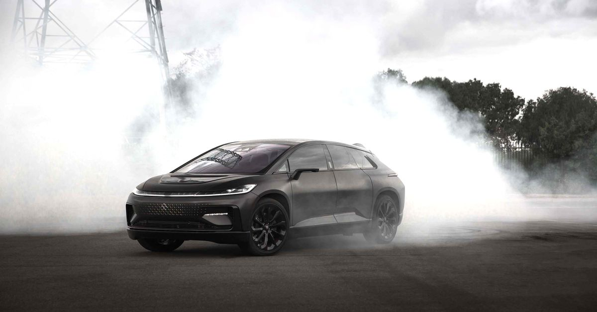 Faraday Future is working with 'a bankruptcy legend' to stave off collapse