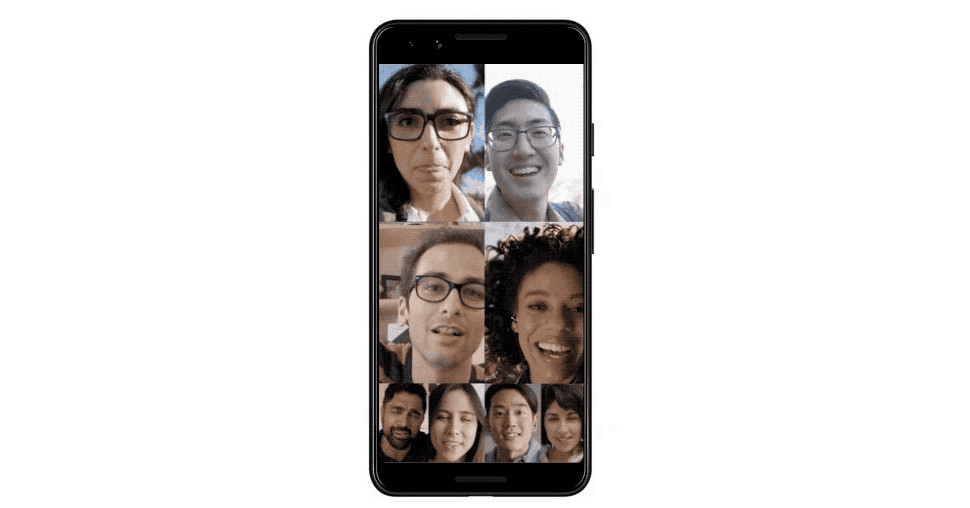 Google Duo now supports eight-person video calls