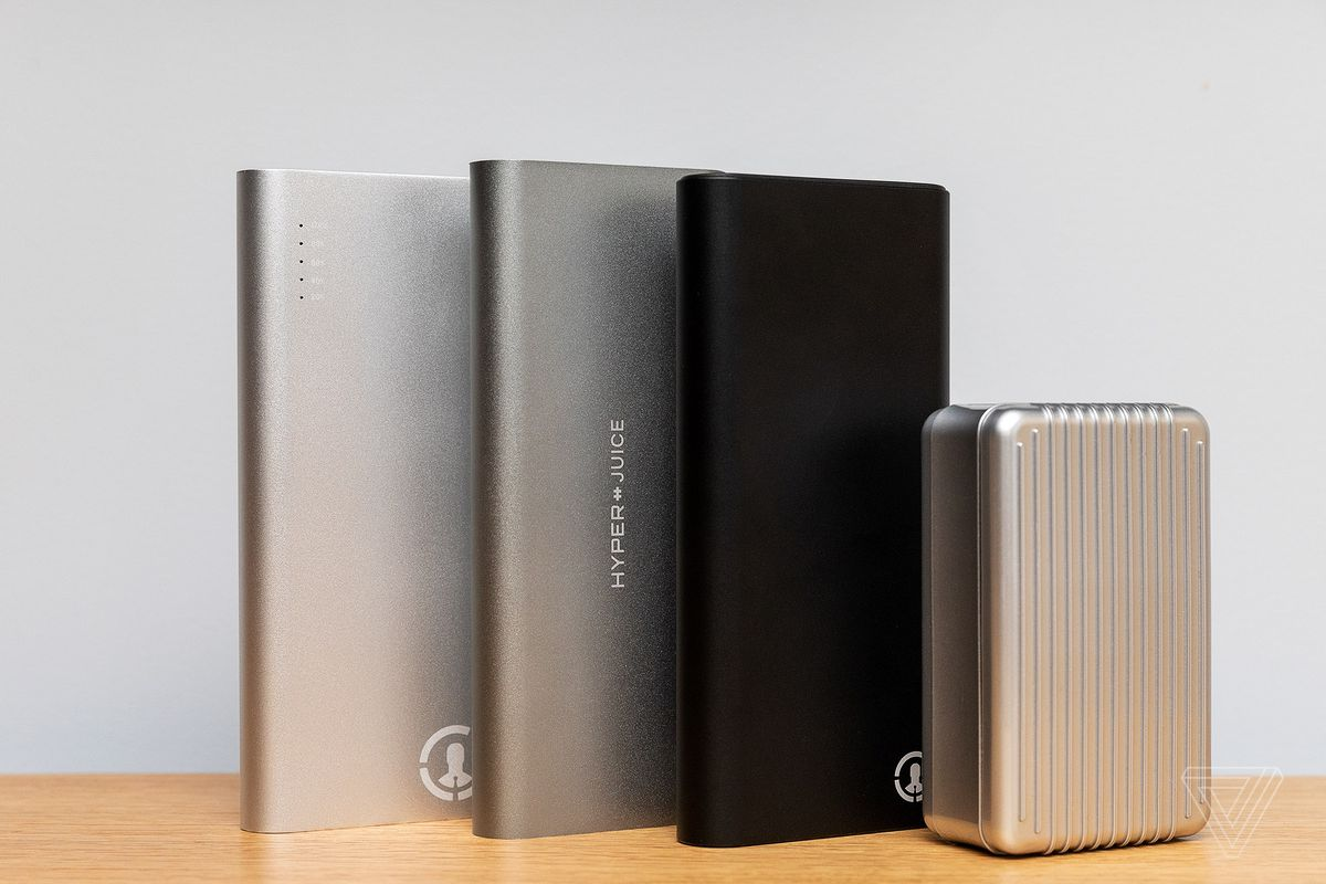 High-wattage USB-C batteries can keep your laptop charged on the go