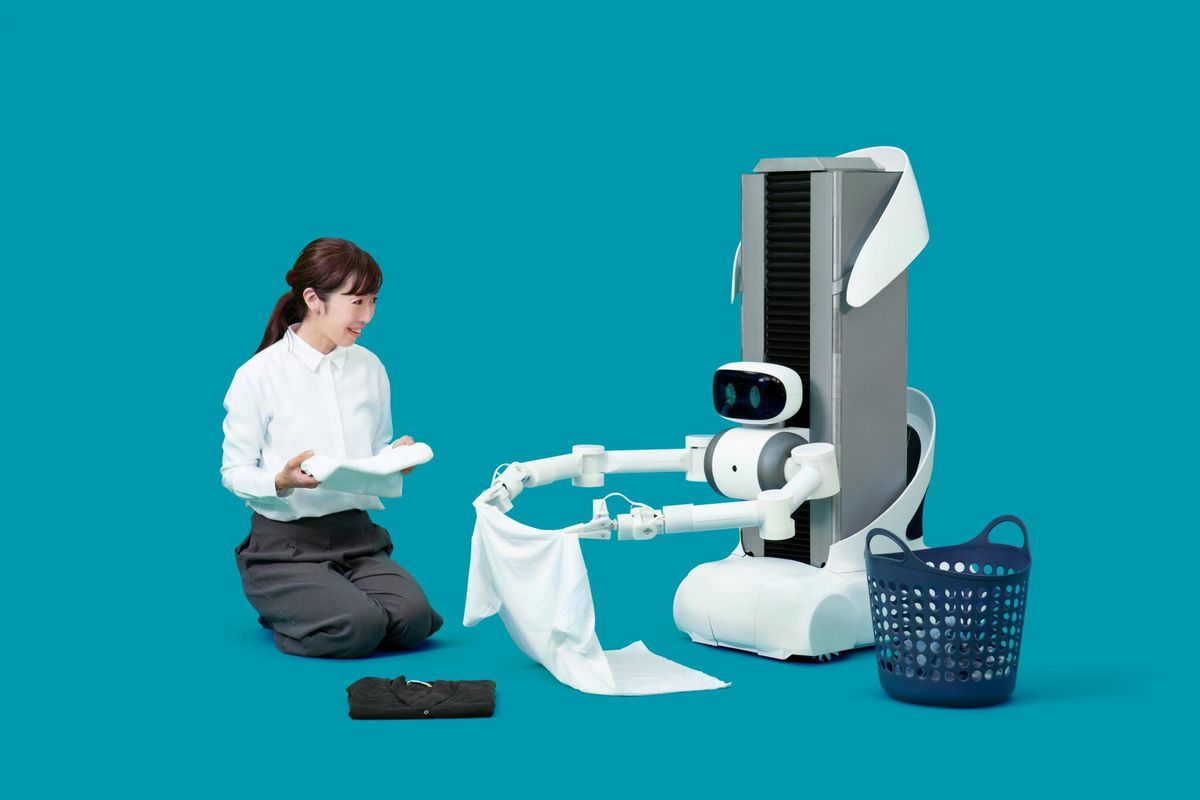 Robot butlers operated by remote workers are coming to do your chores