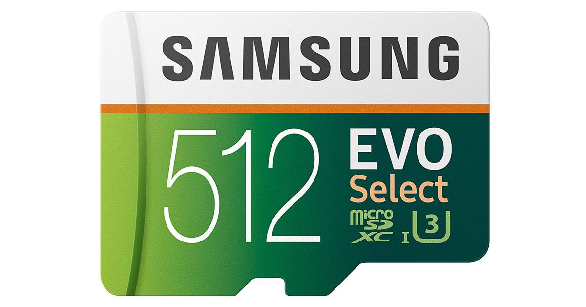 Samsung's 512GB microSD is a huge storage upgrade that's cheaper than ever