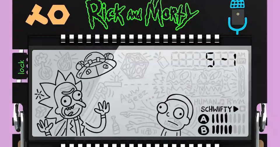 Teenage Engineering is releasing a limited edition Rick and Morty pocket synthesizer