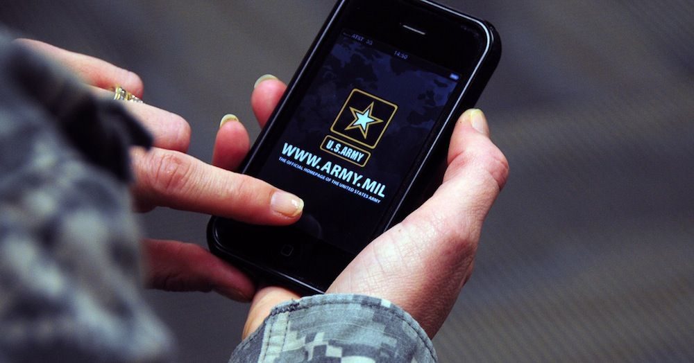 The US military doesn't know how many websites it runs