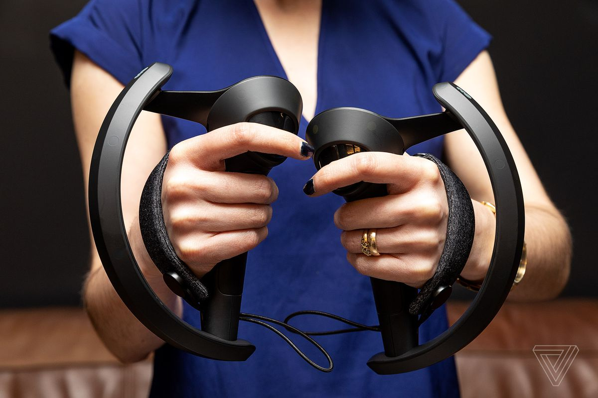 The Valve Index might have the most fun VR controllers I've ever tried