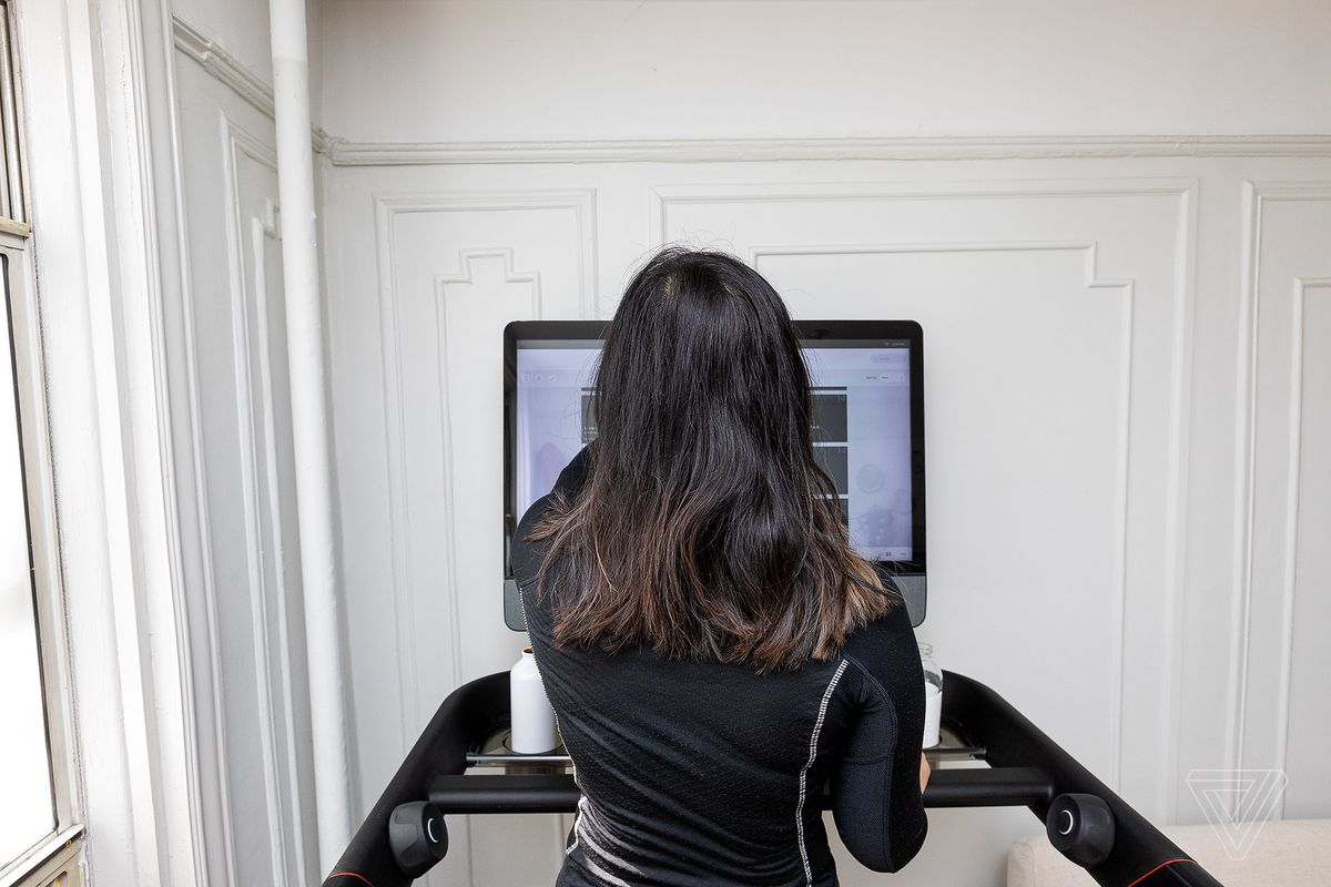 Training for my first 5K with the $4K Peloton Tread