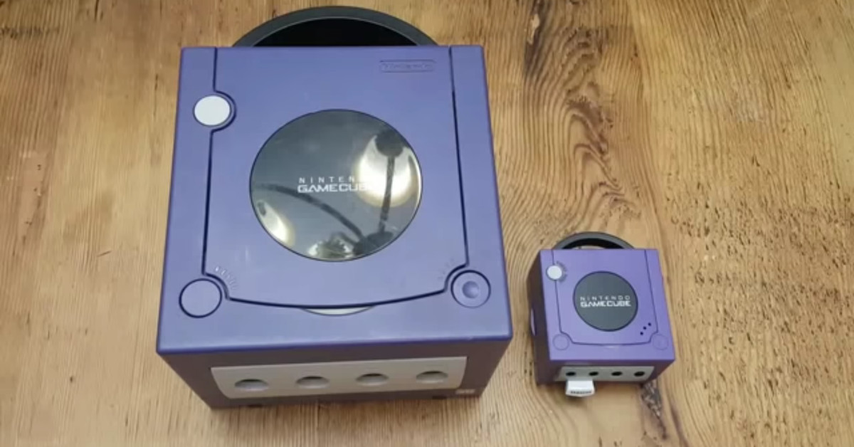 YouTuber does what Nintendon't and builds a working Gamecube Classic