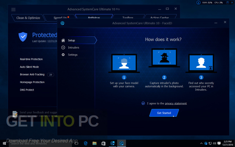 Advanced Systemcare Ultimate 12, latest version Download-GetintoPC.com