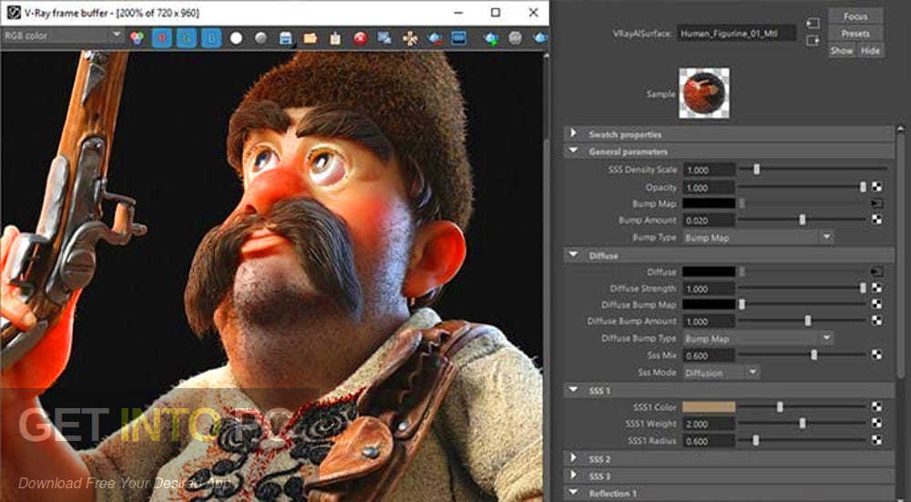 V -Ray Next for Maya 2018 2017 2016 2015 Installer offline Download-GetintoPC.com