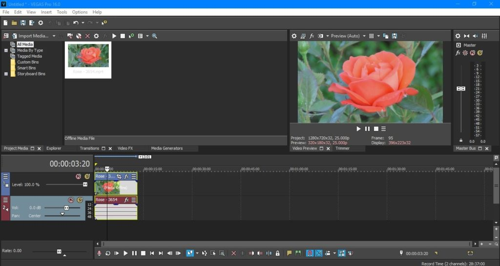 MAGIX (SONY) VEGAS Pro 16 Free Download - Get Into PC