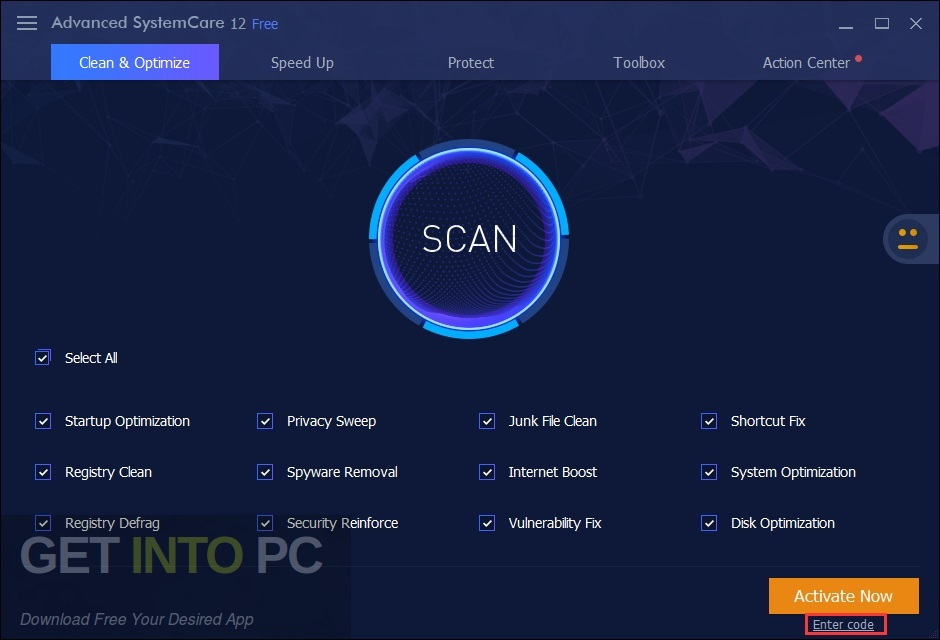 Advanced SystemCare Pro 12 Direct Link Download-GetintoPC.com
