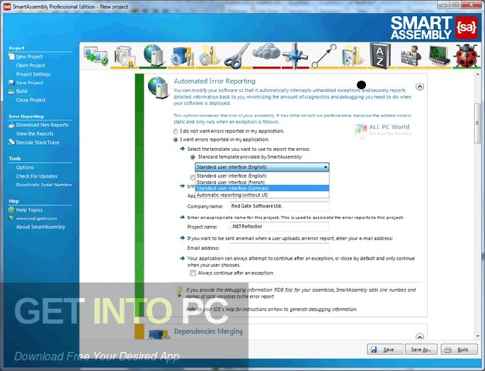 Red Gate SmartAssembly 2019 Disconnected Installer Download-GetintoPC.com