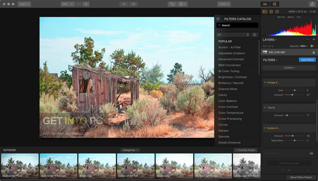 Luminar 2018 v1.1.1.1431 Direct link download