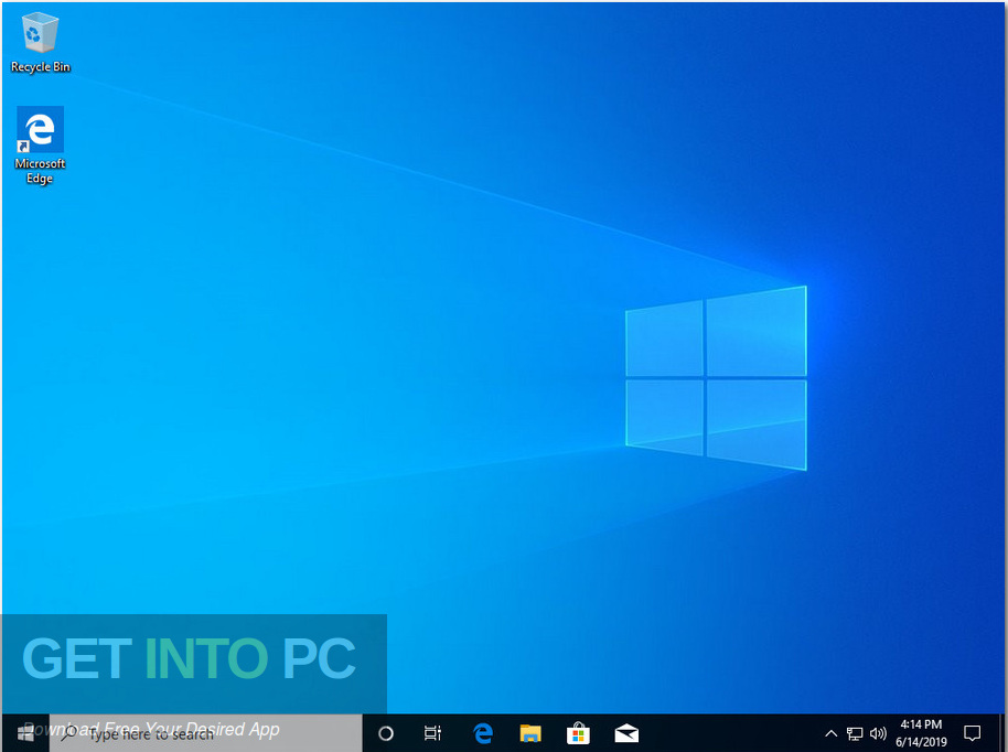 Windows 10 Home Pro 19H1 x64 June 2019 Download - Get Into PC