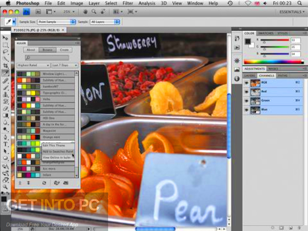 Adobe Photoshop CS4 Extended Link Direct Download-GetintoPC.com