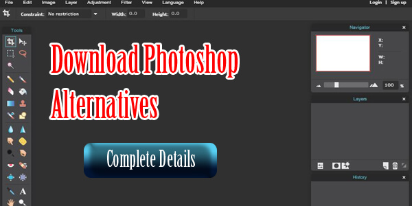 Adobe Photoshop Alternatives Online And Paid Tools Details